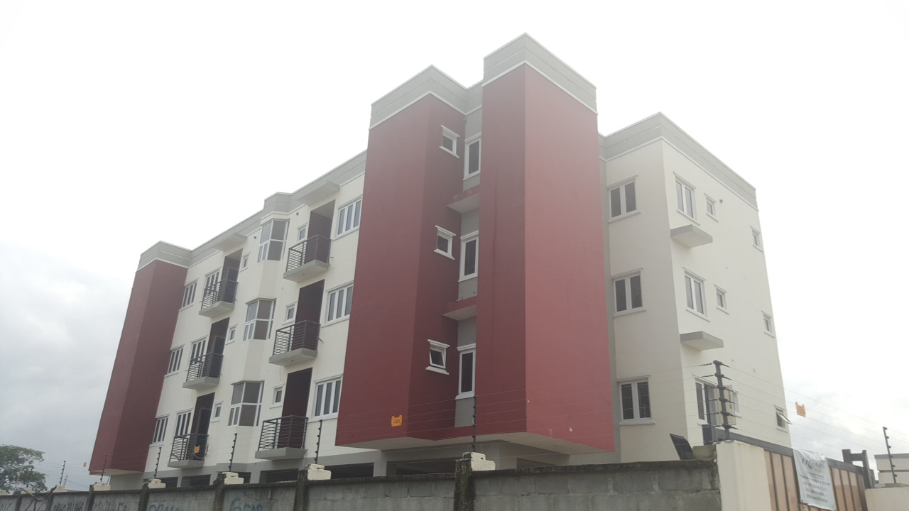 Brand new and luxuriously finished 3 bedroom apartment with en suite boys quarters each and gatehouse at Kajola Estate Phase Two, Ajah-Lagos.
